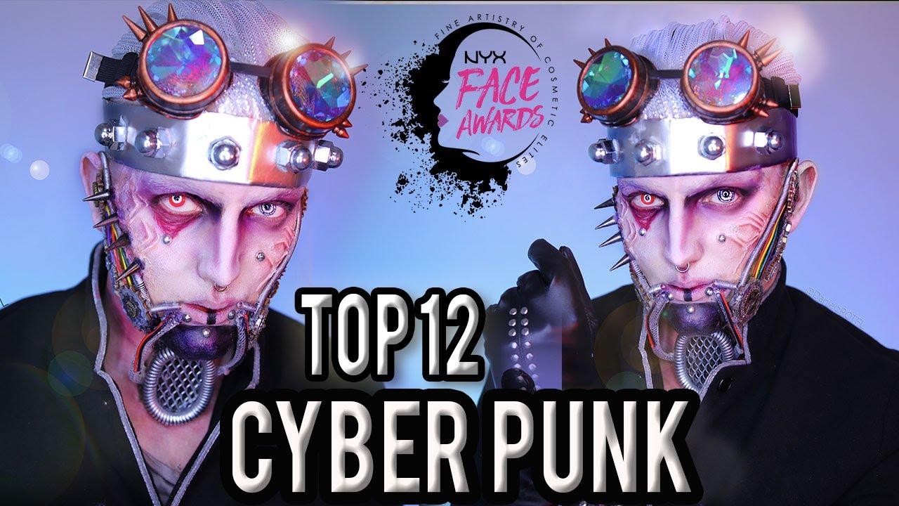 FACE AWARDS TOP 12 | CYBERPUNK |NYX PROFESSIONAL MAKEUP | DanielzROTFL