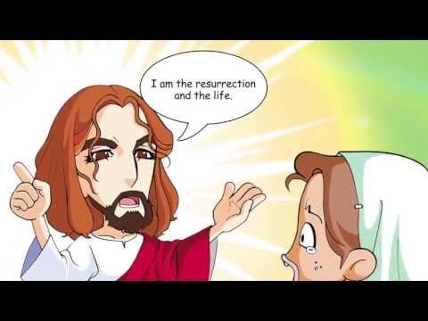 Power Bible - Bible Stories to Impart Wisdom - The Tomb of Lazarus