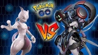¡MEWTWO vs MEWTWO ACORAZADO en Pokémon GO! ¿¡Será mejor con armadura o sin ella!? [Keibron]