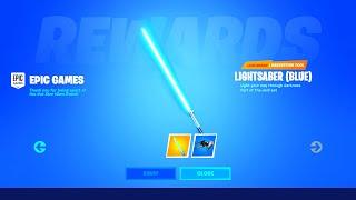 *NEW* Star Wars FREE LIGHTSABER REWARDS, CHALLENGES & MORE! (Fortnite Chapter 2 Star Wars Event)