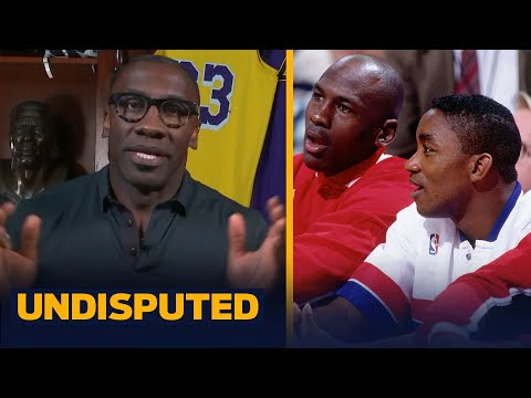 Shannon reacts to audio of MJ saying he wouldn't play on Dream Team with Isiah | NBA | UNDISPUTED