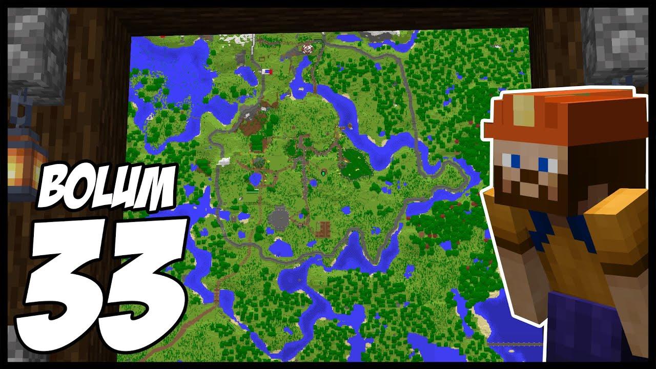 BASE ÇALIŞMALARI!   Minecraft: Modsuz Survival   S5 Bölüm 33