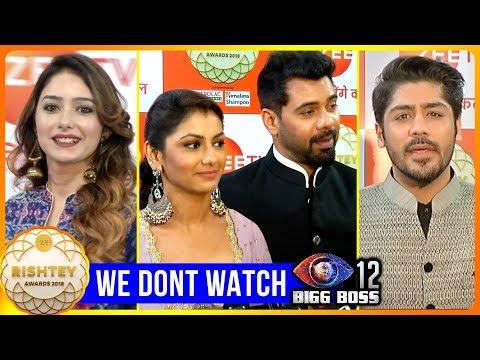 Television Celebrities Who DONT WATCH Bigg Boss 12   Shabbir Ahluwalia, Sriti Jha, Leena Jumani thumbnail