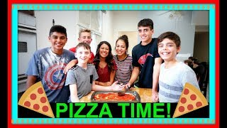 IT'S TIME FOR PIZZA! | PERFECT PIZZA! | WASP STINGS!