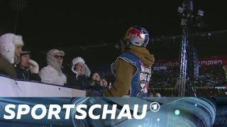 Big Air Festival: Das komplette Springen der Snowboarder in Mönchengladbach | Sportschau