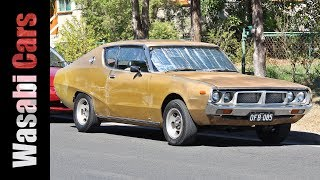 As Good As Gold: Datsun 240K Hardtop On The Street In Australia