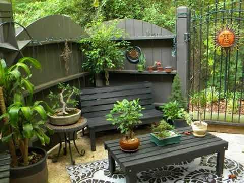 kleine garten terrasse ideen f r sch ne haus youtube. Black Bedroom Furniture Sets. Home Design Ideas