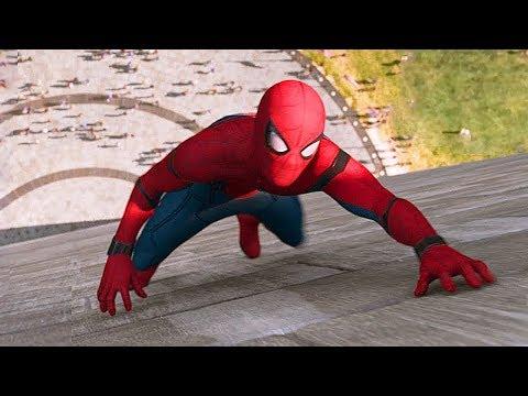 Человек-паук спасает друзей