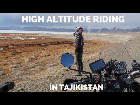 [Eps. 78] HIGH ALTITUDE RIDING in Tajikistan - Royal Enfield Himalayan BS4