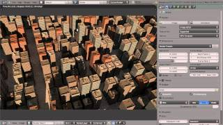 How to Create a City in Blender