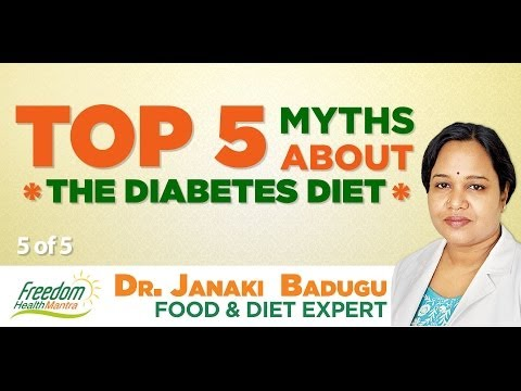 Can Diabetic Patients eat Bananas & Fruits? - Freedom Health Mantra #5