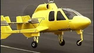 Hawk 4 Gyroplane Takeoffs and Landings