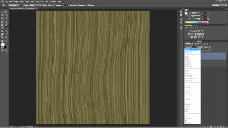 Tutorial - Drawing Wood Grain In Photoshop
