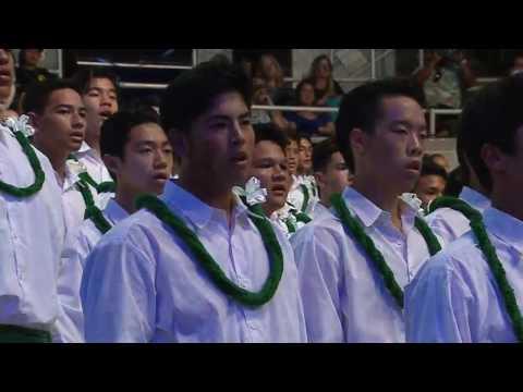 Kamehameha Song Contest 2017  Freshman co 2020  Lae Lae