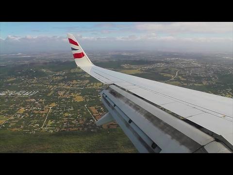 Comair / British Airways 737-800 Johannesburg-Port Elizabeth Safety, Takeoff, Inflight, Landing