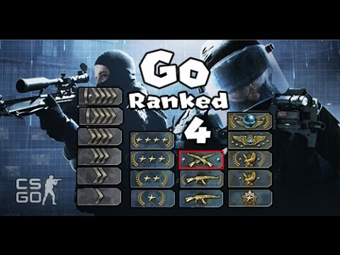 how to get ranked in csgo