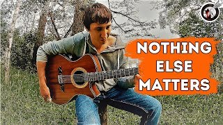 Nothing else matters 🔥  | Alex Mercy fingerstyle guitar cover