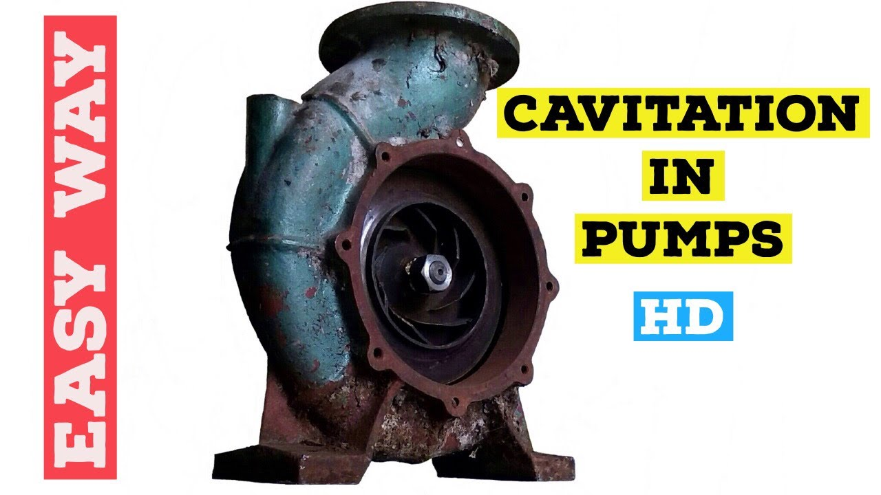 CAVITATION IN PUMPS(quickly!)🔥
