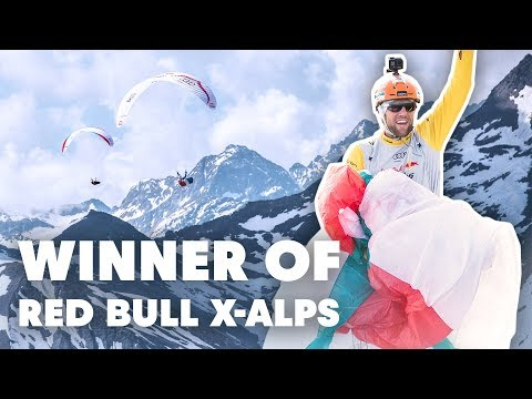 Who Won The World's Toughest Adventure Race Across The Alps | Red Bull X-Alps 2019