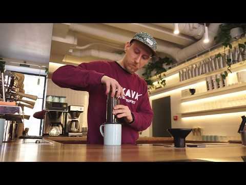 Как приготовить кофе в AeroPress? Tutorial