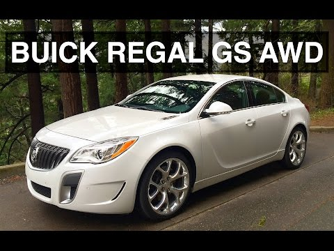 AWD Turbo Buick – 2016 Regal GS Review & Apple CarPlay