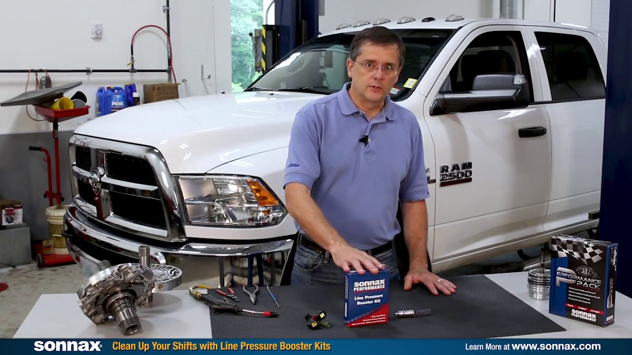 Clean Up Your Shifts with Sonnax Line Pressure Booster Kits