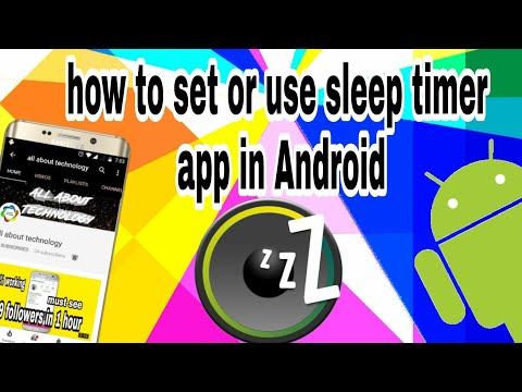 How to use sleep timer while listening to music in Android