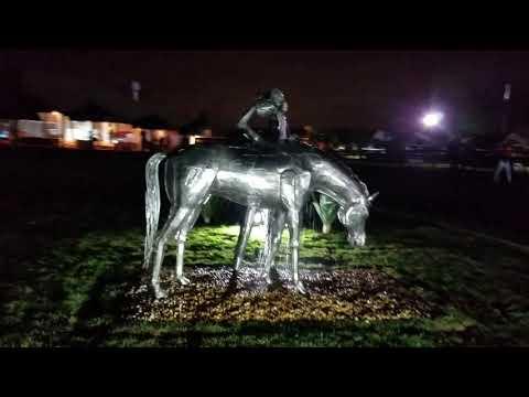 Escultura Cavalo de Enduro EquestreZe Vasconcellos Metal Sculptures - Metal Sculptures - Campinas - São Paulo - Brasil