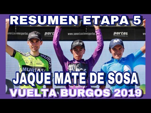 RESUMEN ETAPA 5 VUELTA A BURGOS 2019 🇪🇸 IVÁN RAMIRO SOSA Revalida El Título 🇨🇴