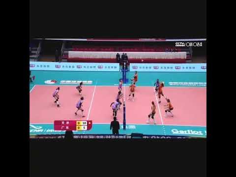 Highlights: (Tandara) Guangdong vs Tianjin / Rank 1 #CVL