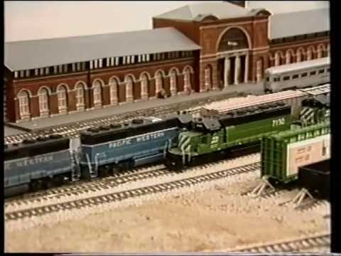 AMMRC's Pacific Western - New Zealand Model Railway Tours