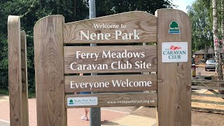 Ferry Meadows - Caravan & Motorhome Club Site Tour