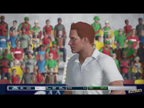 Ashes Cricket - Career Mode: Australian State Shield Victoria vs Tasmania