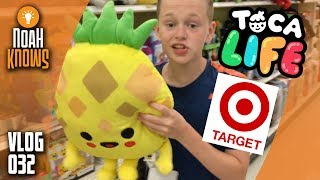 Going to Target to buy amazing NEW Toca Boca products! – VLOG 032