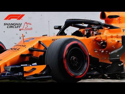 F1 2018 | Dándolo todo!!! - Mclaren Renault MCL33 @ Chinese GP | Shanghai