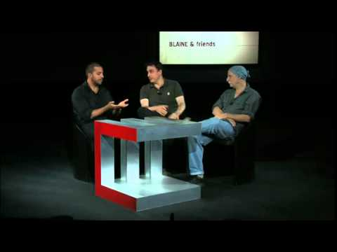 David Blaine - The Concept Behind Street Magic - The Urban Shaman
