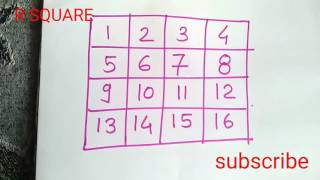 Very interesting puzzle .must watch.in hindi.हिंदी में.R SQUARE