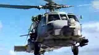 SH-60B LANDING