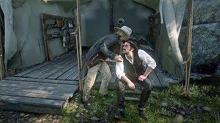Micah in Dutch's Ear/ Hidden Dialogue / Red Dead Redemption 2