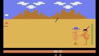Atari 2600 Longplay [003] Custer's Revenge