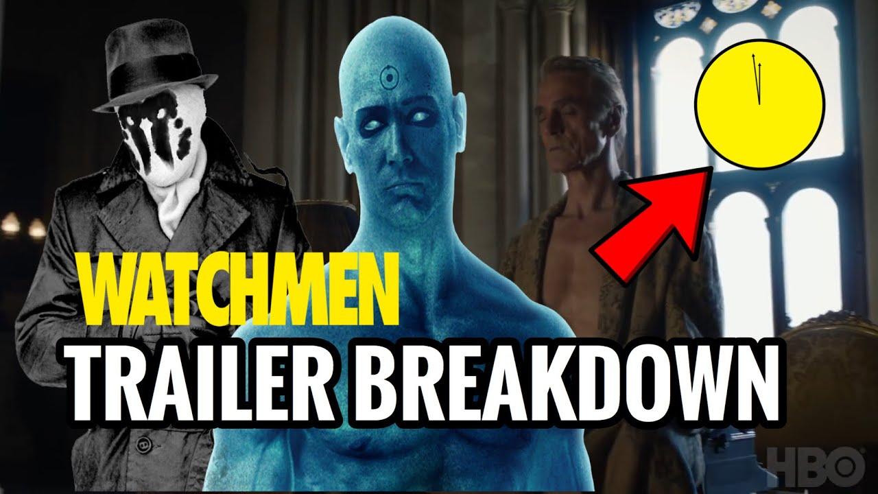 Hbo Watchmen Trailer Breakdown Another Doomsday Clock Dr