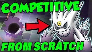 COMPETITIVE POKEMON FROM SCRATCH | Pokemon Let's Go Shiny Gastly Hunting
