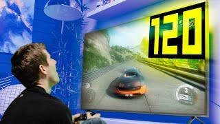 120Hz PC Gaming On a TV!!