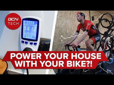 How Many Watts Does It Take To Power Your House? | Is Cycling A Viable Green Energy Source?