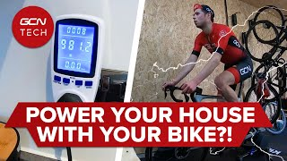 집에 전력을 공급하려면 몇 와트가 필요합니까? | 사이클링은 실행 가능한 녹색 에너지 원입니까?