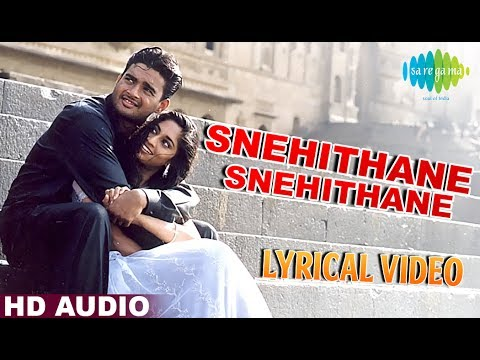 Snehithane | A.R. Rahman | Mani Ratnam | Alaipayuthey | Tamil | Lyrical Video | Original HD Song