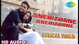 Download Snehithane | A.R. Rahman | Mani Ratnam | Alaipayuthey | Tamil | Lyrical  | Original HD Song MP3 song and Music Video