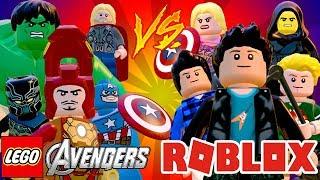 LEGO VS ROBLOX (MOD) LEGO Marvel's Avengers (LEGO Marvel Vingadores)
