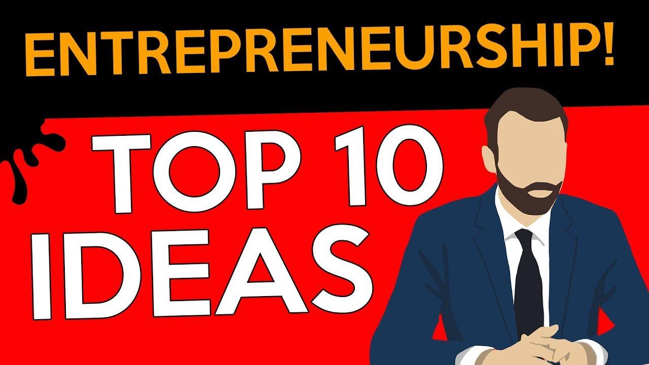 Top 10 entrepreneur ideas in india youtube for Entrepreneur idee