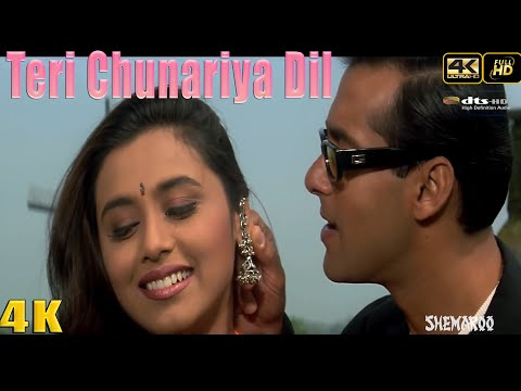 Teri Chunariya Dil Le Gayi - 4K UHD 2160p - movie Hello Brother (1999 )Salman Khan ,Rani Mukherjee